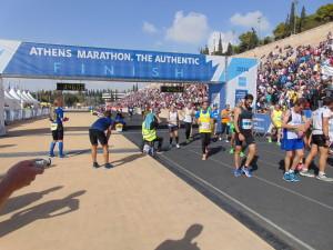 Marathon-Ziel
