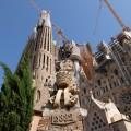 ... auf die Sagrada Familia.