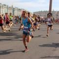 Marcel Bräutigam beim White Nights Marathon 2014