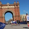 Arc de Triomf - Sinnbild der Weltausstellung in Barcelona.
