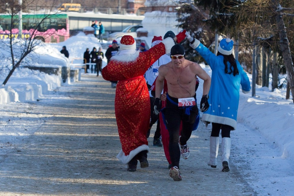 """""""Eislauf"""" zur Russischen Weihnacht (zum Nachahmen nur bei angemessenen Temperaturen bestimmt)"""