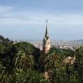 Im Park Güell mit Traumblick auf die Stadt (Güell war Industrieller, Gaudis Freund und Förderer)