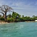 Strandszene im Bissagos-Archipel