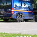 Angekommen - mit Team und Bike ... es kann losgehen!