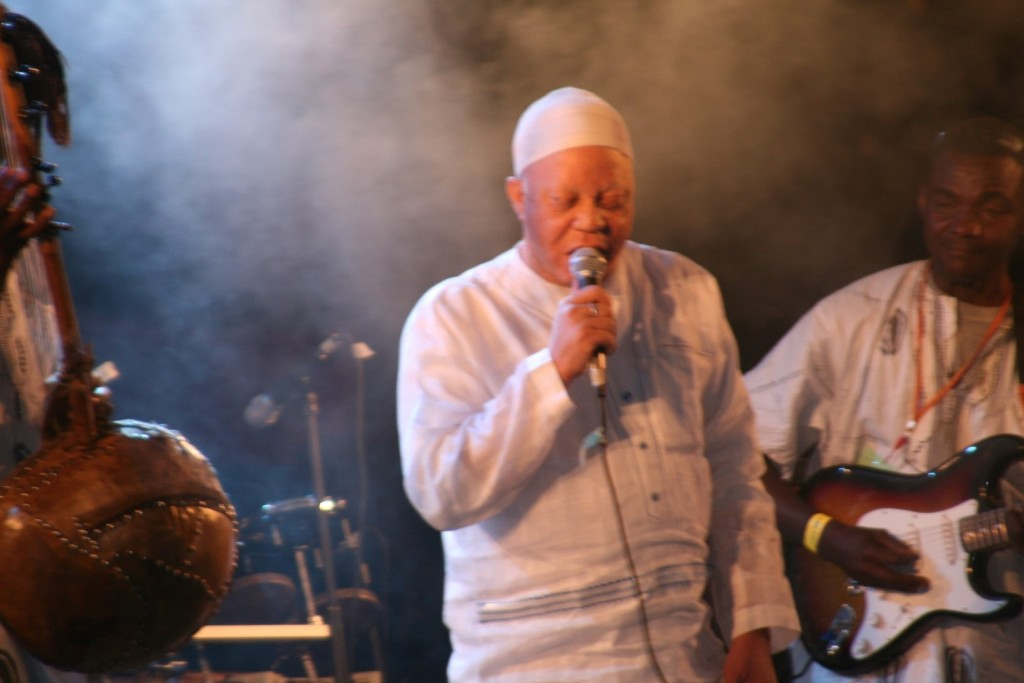 Salif Keita auf dem Festival sur le Niger