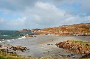 Strand auf der schottischen Insel Mull