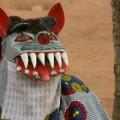 Masken sind ein typisch westafrikanisches Ausdrucksmittel.