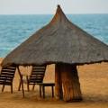 Erholung nach einem trubeligen Tag finden Sie am Strand von Grand-Popo.