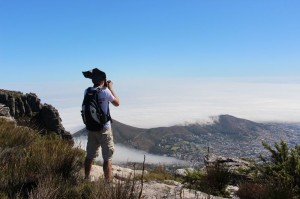 Grandioser Ausblick vom Tafelberg bei Kapstadt
