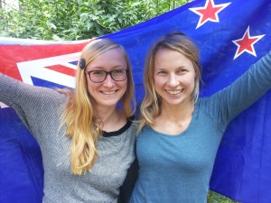 Neuseeland-Expertinnen: Franziska Wachsmuth und Tina Henker