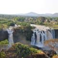 Die in Äthiopien gelegenen Tisissat-Wasserfälle des Blauen Nil sind die zweitgrößten Wasserfälle Afrikas