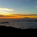 Auf dem Gipel des Batur-Vulkans ...