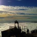 ... mit Sonnenaufgang auf 1717 m Höhe!