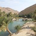 Wadis mit natürlichen Pools