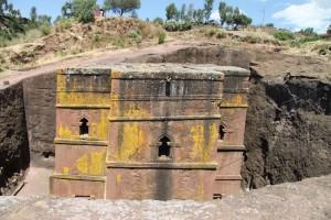 Eine der elf Felsenkirchen von Lalibela - ein Highlight der 12- und 18-Tage-Varianten