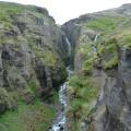 Wanderung zum zweithöchsten Wasserfall des Landes - dem 196 m hohen Glymur