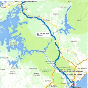 Vom Atlantik zum Pazifik: Ultra-Lauf über 70 km, am Panamakanal, von Purto Pilòn nach Panama City