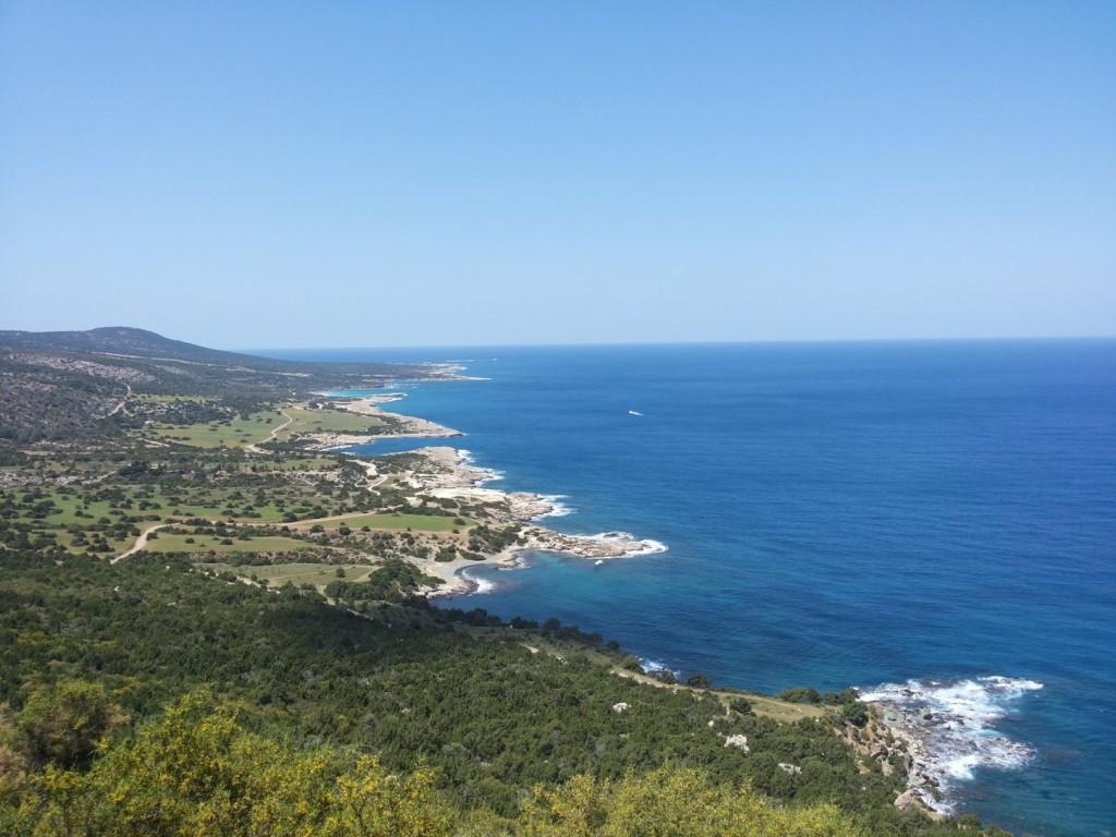 Westküste Zyperns - Sie werden sie oft im Blick haben...