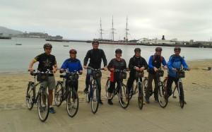 """""""Läufer auf Abwegen"""": Radtour nach Sausalito"""