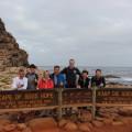 Am Kap der Guten Hoffnung mit unserer kleinen Reisegruppe 2015