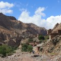 Ein typisches Berberdorf im Hohen Atlas