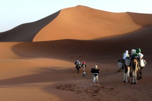 Mehrtägiges Trekking durch die Wüste