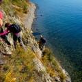 Küstenwanderung mit unserer langjährigen, Deutsch sprechenden, Baikal-Reiseleitung