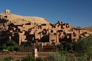 Die berühmte Wüstenstadt Aït Ben Haddou