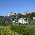 ...der moderne Teil Tbilissis