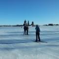 Auf Ski über den Onega-See zur berühmten Insel Kischi