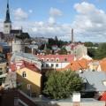 Über den Dächern Tallinns beginnt Ihre Radreise - aktiv...