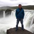 """Góðafoss - zu sehen auf den Reisen """"Rundum Island """" und """"Schafe, Hebstluft, ... """""""