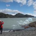 Wanderung am Ufer des Lago Grey