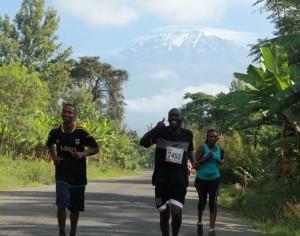 Der Kilimanjaro ist ein ständiger Begleiter