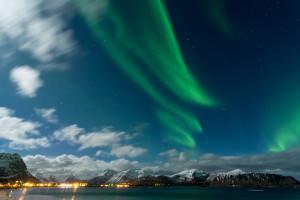 Im Winter bieten sich hier beste Chancen, um das farbenfrohe Phänomen am Himmel zu beobachten.