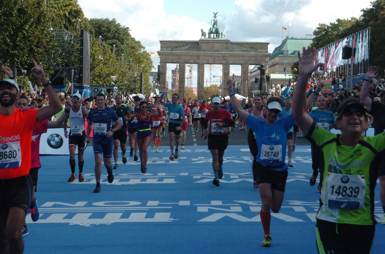 Berlin Marathon Strecke Samstag