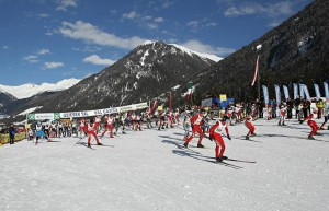 Start zum Gsieser Tal-Lauf 2014