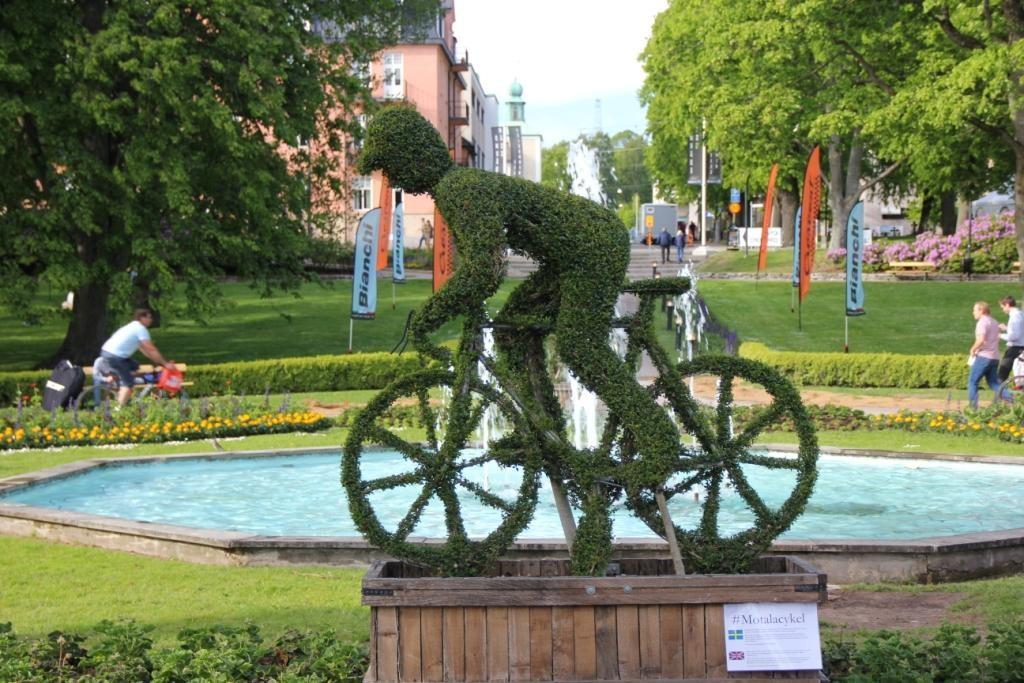 Im schönen Start- & Zielort Motala dreht sich eine Woche alles um Radsport.