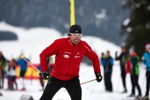 Olympia-Silbermedaillengewinner und auch Trainer: Peter Schlickenrieder