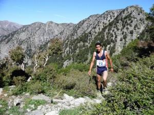 Die Bergszenerie des Samaria Run ist einmalig und zumeist spielt auch das Wetter mit.