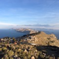 Am Titicacasee, auch hier unternehmen wir eine Wanderung