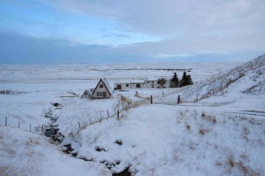 Winterzeit auf Brekkulækur (Foto vom 30.11.2015)