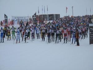 Der Fossavatn-Skimarathon gehört zu den jüngsten Läufen der Worldloppetserie.