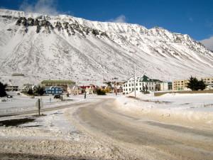 Der Start- und Zielort des Fossavatn ist Ísafjörður.