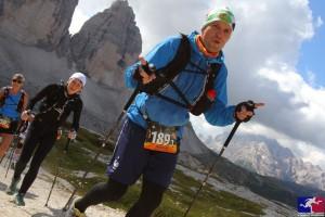 Tino & Ines (Team schulz sportreisen) beim Transalpine-Run 2014