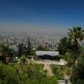 Silvester unter Palmen? Blick vom San Cristobal auf die Hauptstadt Chiles