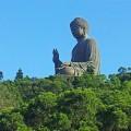 Der größte sitzende Buddha der Welt (Insel Lantau).