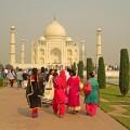 Gehört zu jeder Indienreise: der Besuch des Taj Mahal in Agra