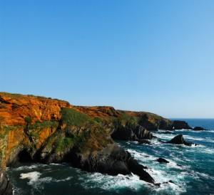 Die Steilklippen der Algarve - hier endet Europa