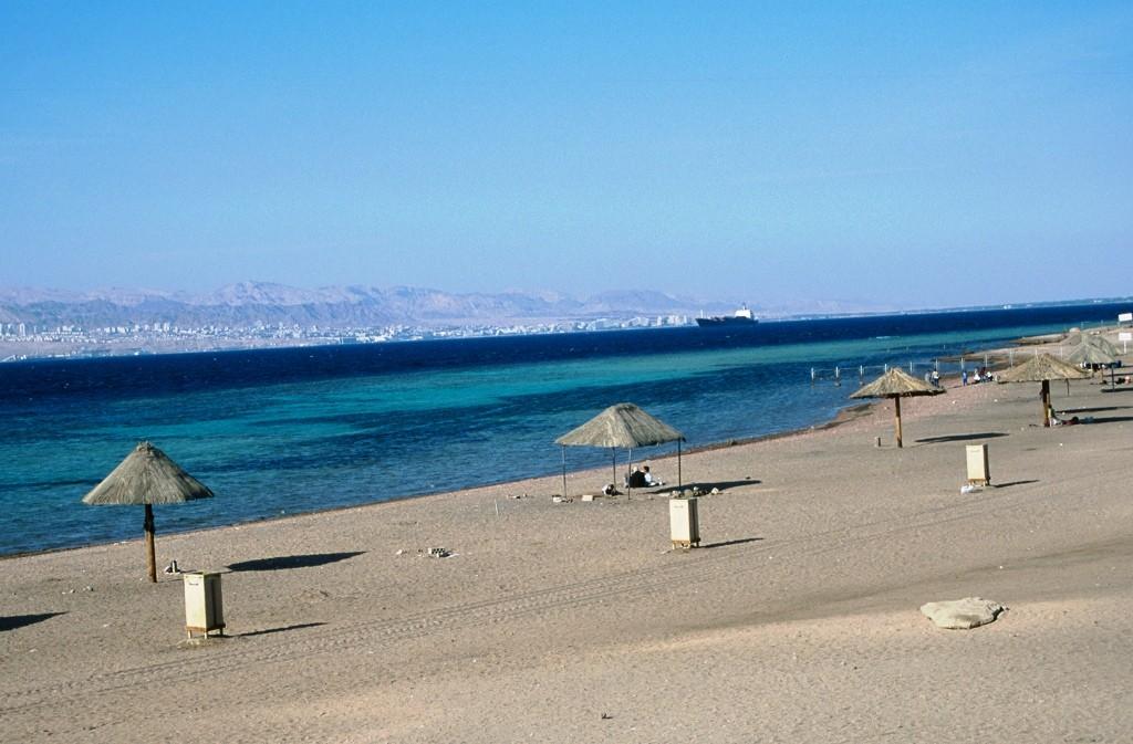 Am Ufer des Toten Meeres